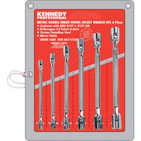 Kennedy-Pro.8-19mm DOUBLE ENDED SWIVEL SOCKET SET 6PC