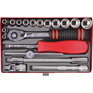 Kengrip.SOCKET SET KEN-GRIP 1/4