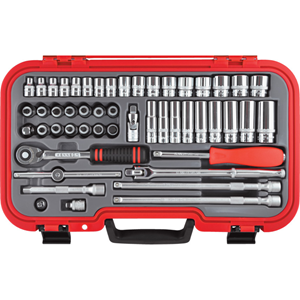 Kengrip.METRIC 50PC KEN-GRIP SOCKET SET 3/8