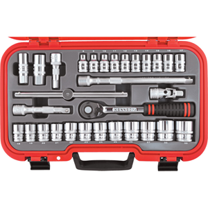 Kengrip.METRIC 30PC KEN-GRIP SOCKET SET 1/2