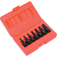 Kennedy.7-PCE HEX DRIVER IMPACT SOCKET SET 3/8