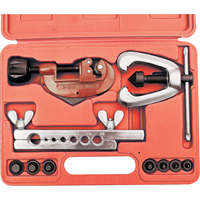 Kennedy.FLARING TOOL KIT WITH PIPE CUTTER (SET-10)