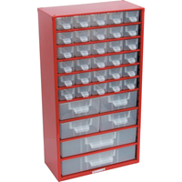 Kennedy.36-DRAWER COMB. PARTS STORAGE CABINET