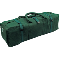 Kennedy.WATER RESISTANT GREEN CANVAS TOOL BAG