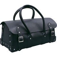 Kennedy.535mm BARN TYPE BLACK LEATHER TOOL BAG