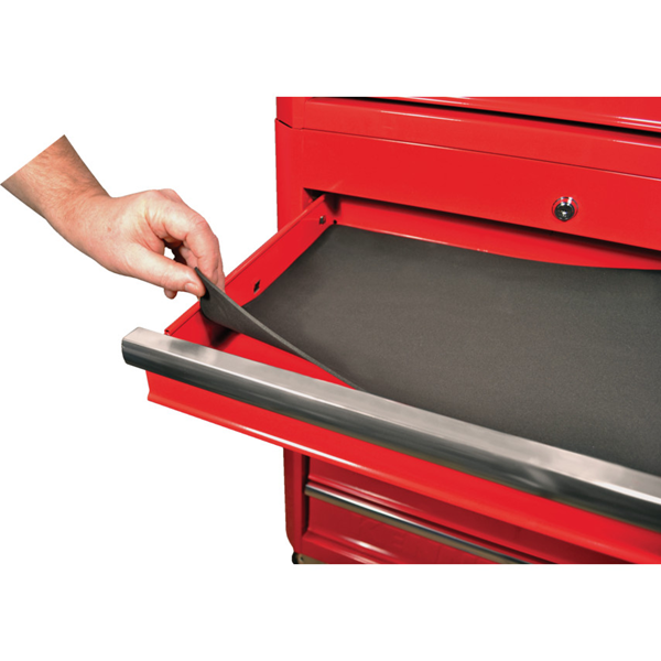 """Kennedy.RED-36"""" 5 DRAWER ROLLER CABINET"""