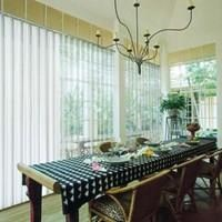 VERTICAL VERASE BLINDS.
