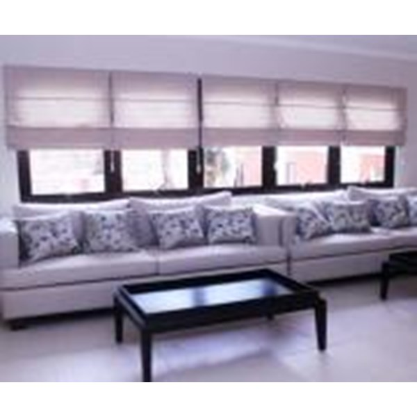 ROMAN SHADES  BLINDS