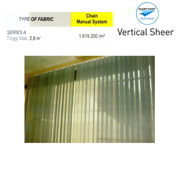 VERTICAL SHEER