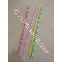 Sedotan Transparent Bengkok 6 Mm 1