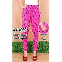 Aladin Harlem Corak Barbie Warna Pink 1