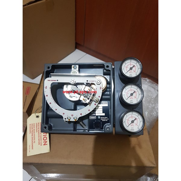 Fisher 3582 Pneumatic Positioner