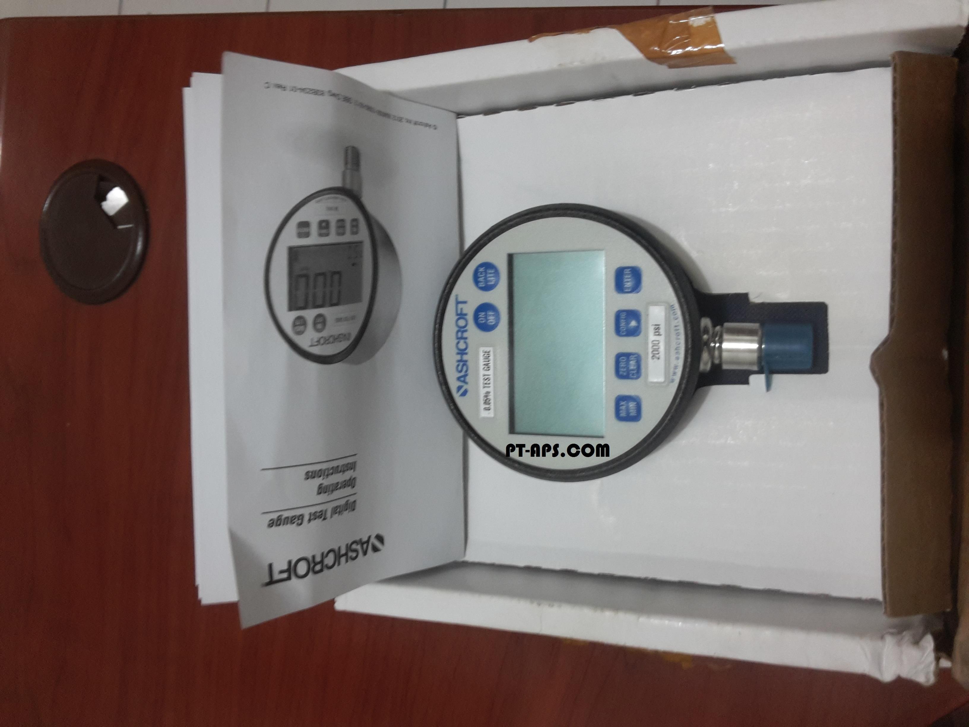 Jual alat ukur tekanan air ashcroft digital pressure gauge harga