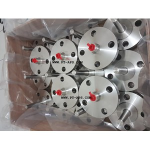 Katup Valves  WIKA Thermowell Flange