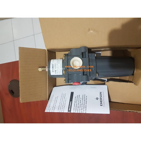 FISHER TYPE 67 DFR PRESSURE REDUCINGREGULATOR