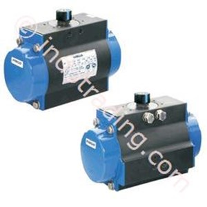 Flack & Pinion Pneumatic Actuator