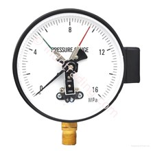 Pressure Gauge With Contact