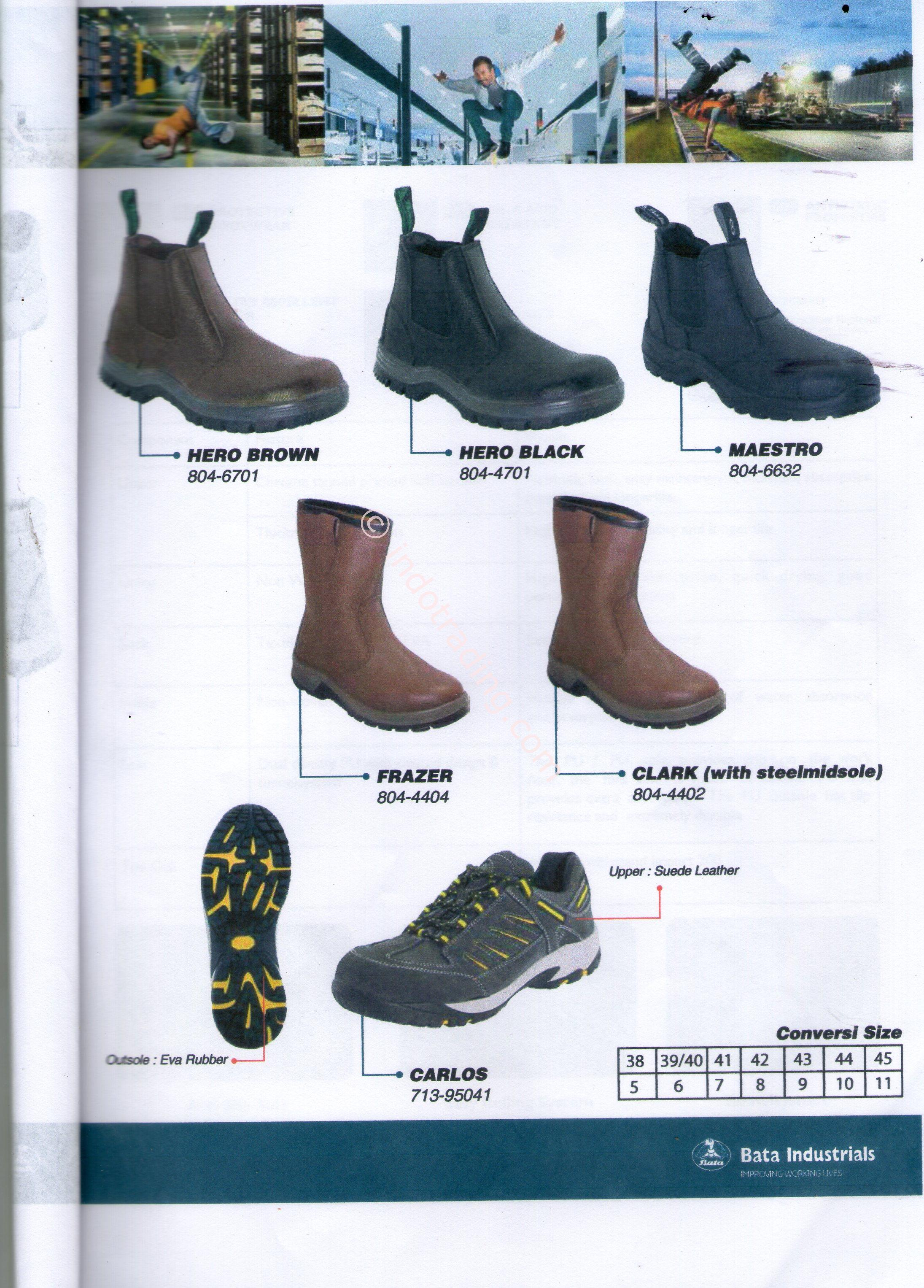 Jual Sepatu Bata Safety Harga Murah Surabaya Oleh UD Bam