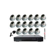 PAKET CCTV 16 CHANNEL AHD HOME 720P MURAH 16 INDOOR