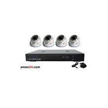 Paket Kamera CCTV Vision Pro AHD-2430