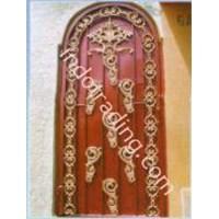 Tralis Pintu Ukir 1
