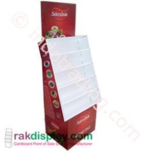 Rak Display Bumbu Instant By PT. Prima Indo Grafika