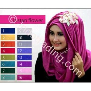 Hijab Instan Flower