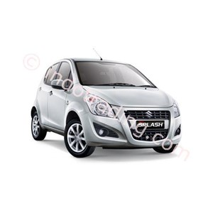 Mobil Suzuki New Splash Silver