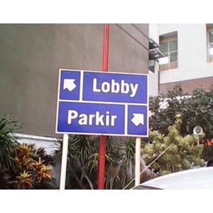 Jasa Pembuatan tanda parkir By CV. Safety Parking