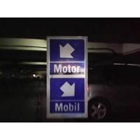 Jasa Pembuatan tanda parkir Mobil Motor By Safety Parking