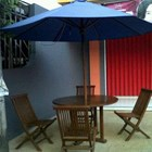 Payung Taman kayu jati 1