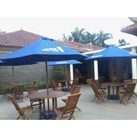 Distributor Payung Taman kayu jati 3