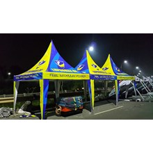 Tenda promosi Kerucut 3X3