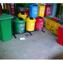 Tempat Sampah Triple Bulat