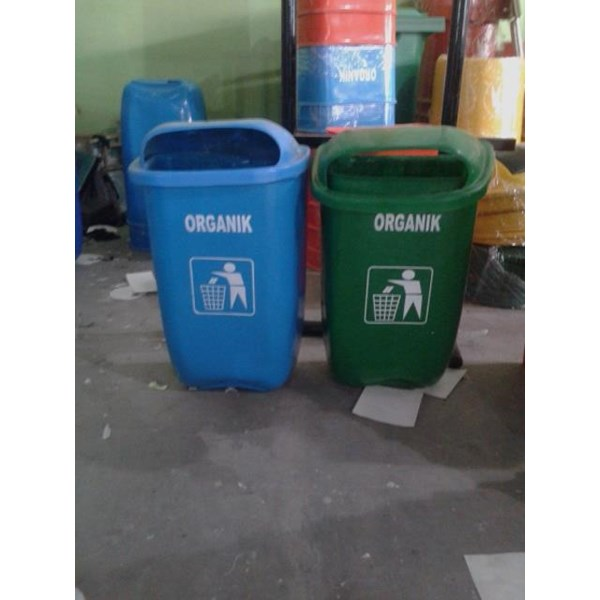 Tempat Sampah 2 Oval