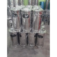 Distributor Standing Ashtray 40 x 80 cm 3