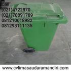 Tempat Sampah Plastik Roda 1