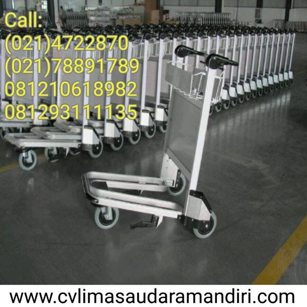 Trolley Bandara Stainless  Perabot Ruang Publik