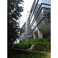 Jual Tiang Bendera Pipa Stainless  2