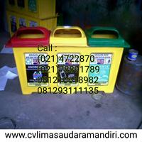 Tong Sampah Fiber & HDPE Plastik