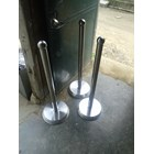 Tiang Antrian Stainless 4
