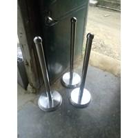 Distributor Tiang Antrian Stainless 3