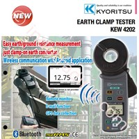 KYORITSU 4202 Earth Clamp Tester 1