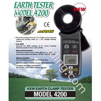 KYORITSU 4200 Earth Clamp Tester 1