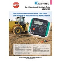 KYORITSU 4106 Earth Resistance Resistivity Tester 1