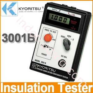 KYORITSU 3001B Digital Insulation Continuity Tester