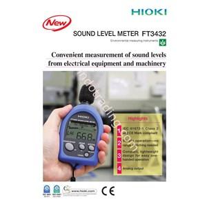 Hioki Ft3432 20 Sound Level