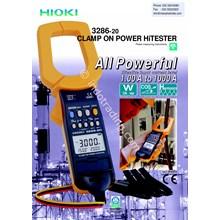 Hioki 3286-20 Clamp On Power Meter Hitester