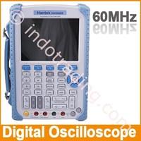 Hantek Dso 8060 60Mhz Handheld Oscilloscope Dengan Digital Multimeter Dan 25Mhz Arbitary Waveform Generator 1