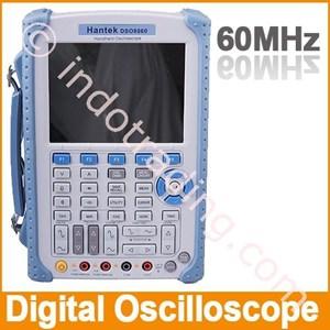 Hantek Dso 8060 60Mhz Handheld Oscilloscope Dengan Digital Multimeter Dan 25Mhz Arbitary Waveform Generator